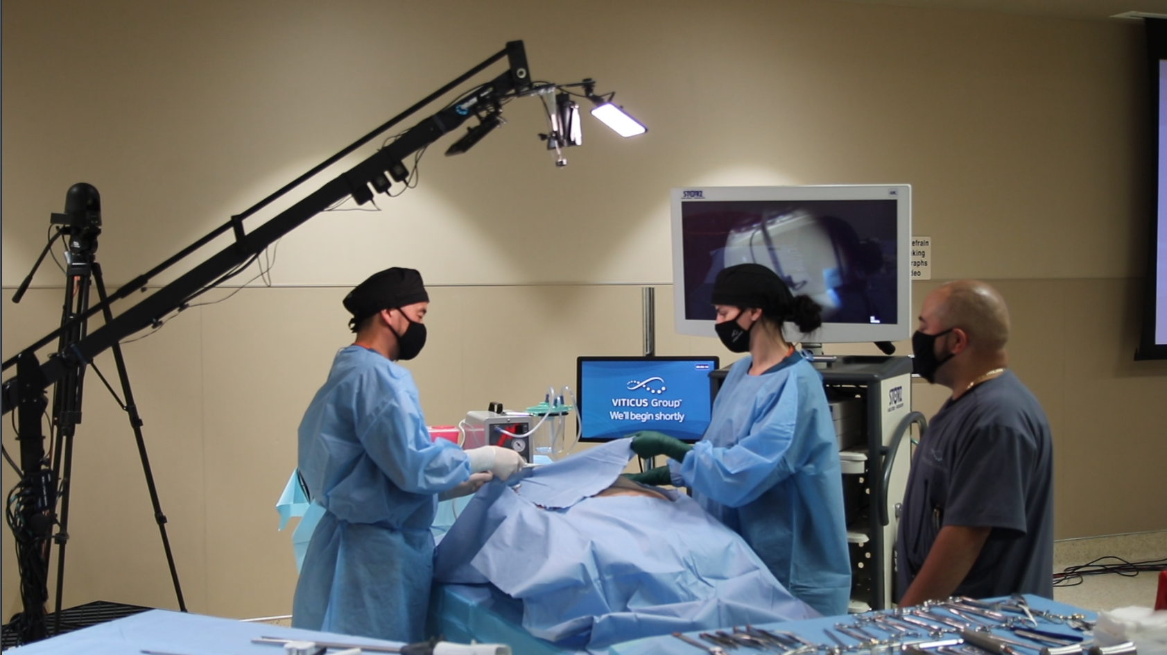 Live Stream Surgical CME Training